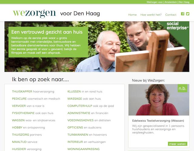Wezorgen.nl algemeen