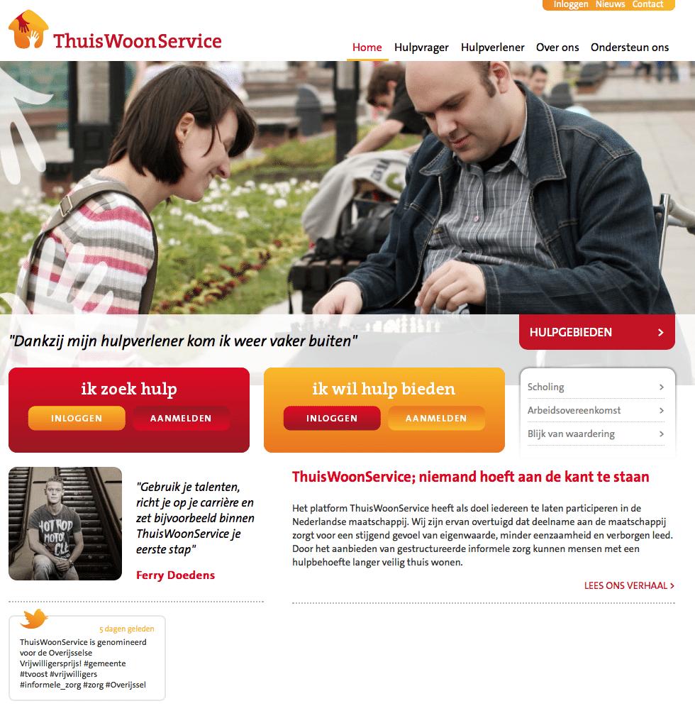 vrijwilliger online Thuiswoonservice