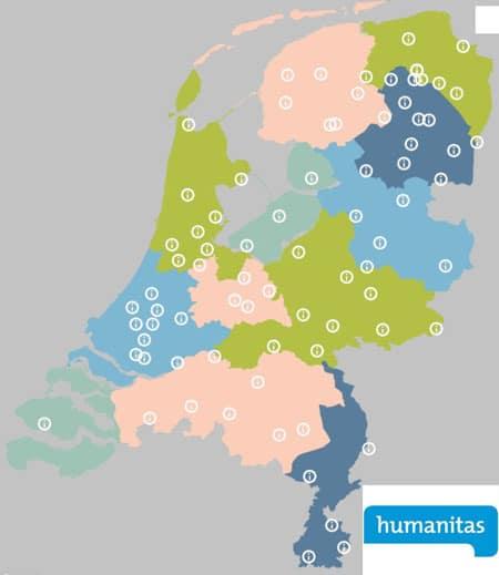 humanitas afdelingen