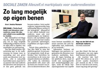Alleszelf in de media 2016 Telegraaf