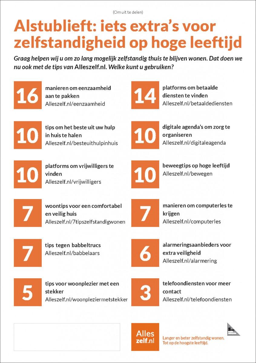 Uitdeelkaart Alleszelf.nl juni 2016