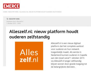 alleszelf.nl in de media 2015