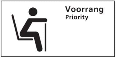 reizen priority seat