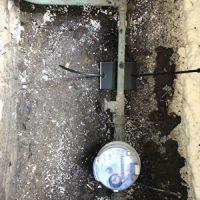 montage op waterleiding