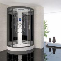 nieuwe badkamer cabine