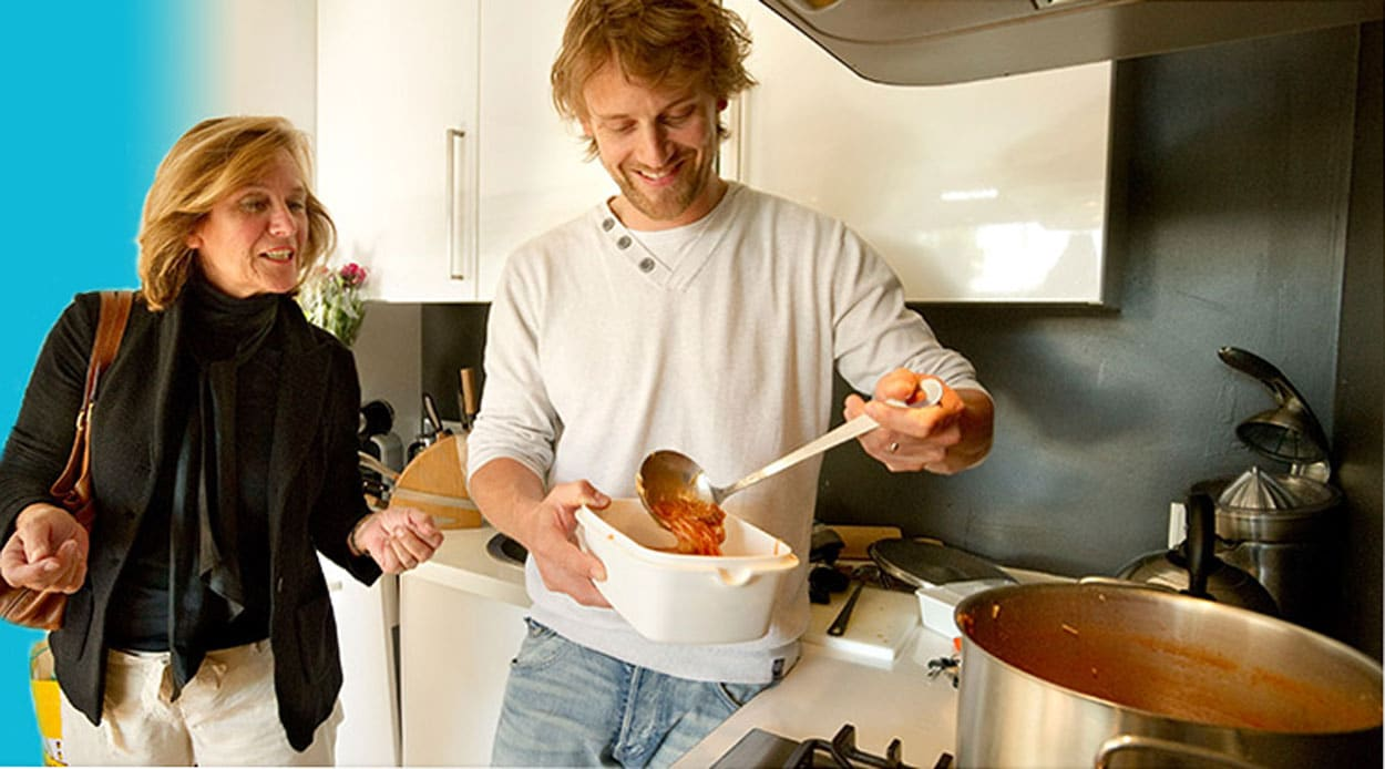 Kook voor je Buren