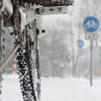 e-bike in de winter accu