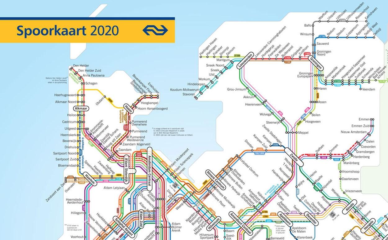 NS Dienstregeling 2020