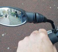 veilig elektrisch fietsen spiegel