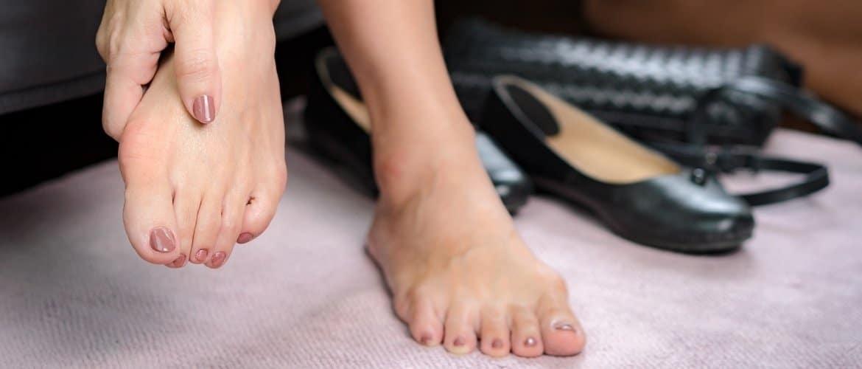 pijn in de voeten