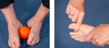online training voeten